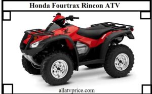 Honda Fourtrax Rincon HP, Price, Specs, Top Speed, Review