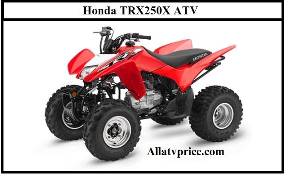 Honda TRX250X ATV Horsepower, Price, Specs, Top Speed, Review