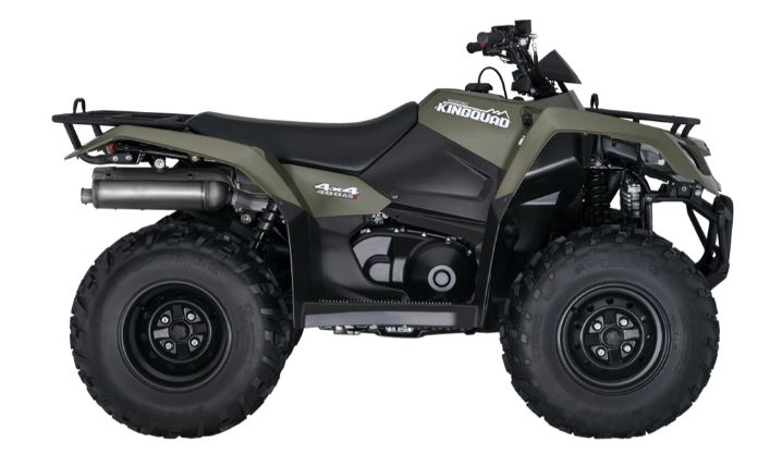 Suzuki KingQuad 400 Auto ATV Specifications