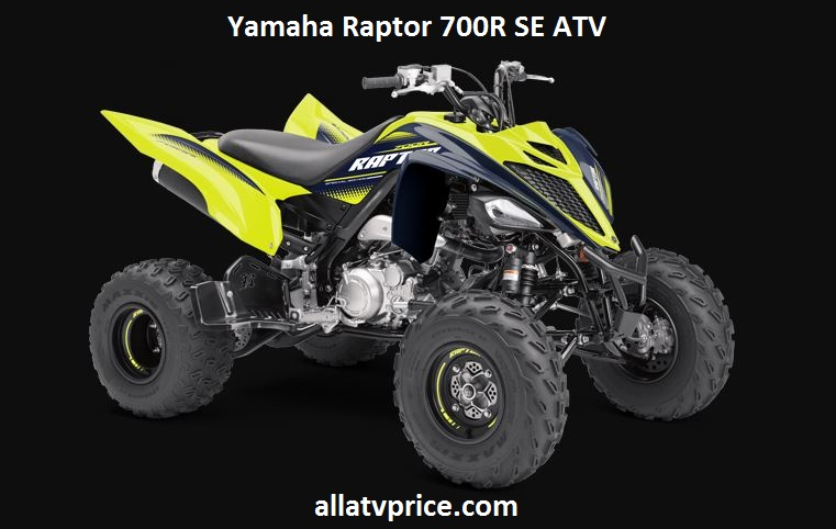 Yamaha Raptor 700R SE Price, Specs, Top Speed, Reviews & Features