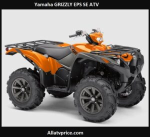 Yamaha GRIZZLY EPS SE Price, Top Speed, Specs, Reviews
