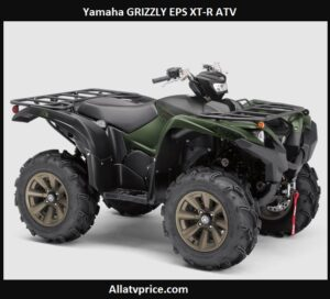 Yamaha GRIZZLY EPS XT-R Price, Top Speed, Specs, Reviews