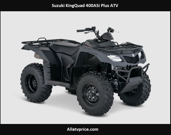 Suzuki KingQuad 400ASi Plus ATV Price, Specs, Review, Top Speed, Colors, Seat Height, Images, Features