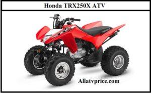 Honda TRX250X ATV Horsepower, Price, Specs, Top Speed, Review