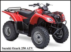 Suzuki Ozark 250 ATV price, specs