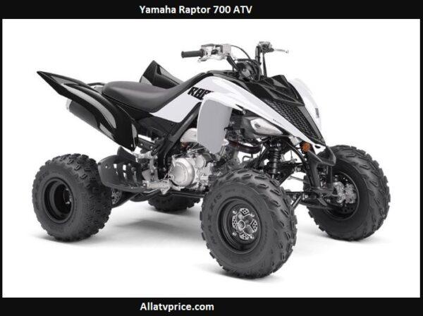 Yamaha Raptor 700 Price, Top Speed, Specs, Reviews, Horsepower