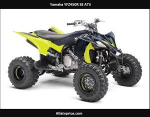 Yamaha YFZ450R SE Price, Top Speed, Specs, Reviews, Horsepower