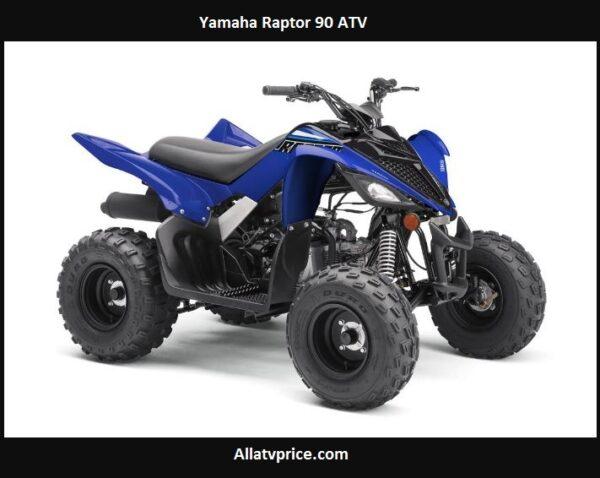 Yamaha Raptor 90 Price, Top Speed, Specs, Reviews