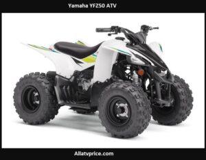 Yamaha YFZ50 Price, Top Speed, Specs, Reviews