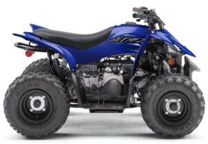 Yamaha YFZ50 specs top speed