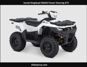 Suzuki KingQuad 500AXi Power Steering