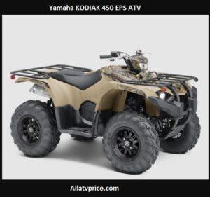 Yamaha KODIAK 450 EPS Price, Top Speed, Review Specs,
