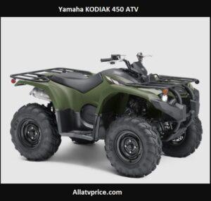 Yamaha KODIAK 450 HP, Price, Specs, Top Speed, Review