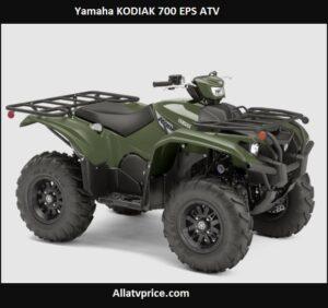 Yamaha KODIAK 700 EPS Price, Top Speed, Reviews Specs